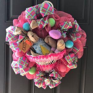 Front Door Easter Wreath